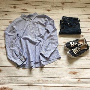[Liz Claiborne] Long Sleeve Button Down Shirt